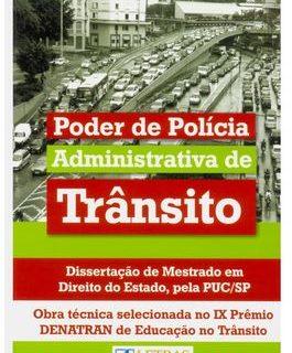 Livro - Poder de Polícia Administrativa de Trânsito